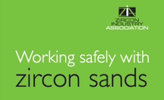 ZIA updates guidance on working safely with zircon sands